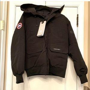 NWT CANADA GOOSE Black Chilliwack Bomber Jacket M